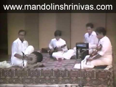 Mandolin U. Shrinivas ji playing Marivere Gathi - Raga Anandabhairavi