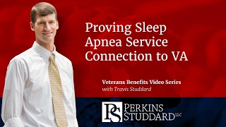 Proving Sleep Apnea Service Connection to VA