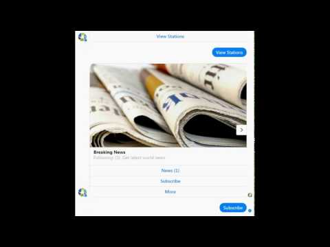 Klever - How to get world news from news feed