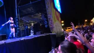 Lights performing Muscle Memory at Panamania for Pan Am - July 20, 2015