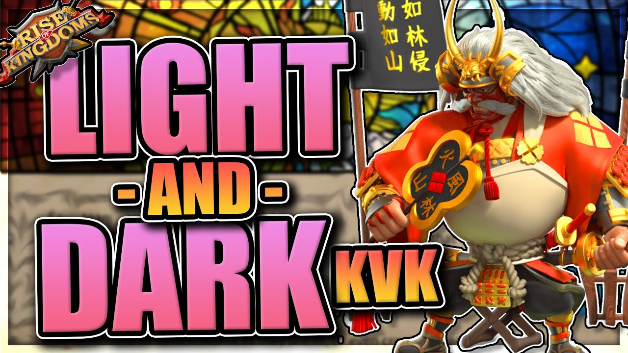 Download Light and Darkness KvK Overview for Rise of Kingdoms (rok)