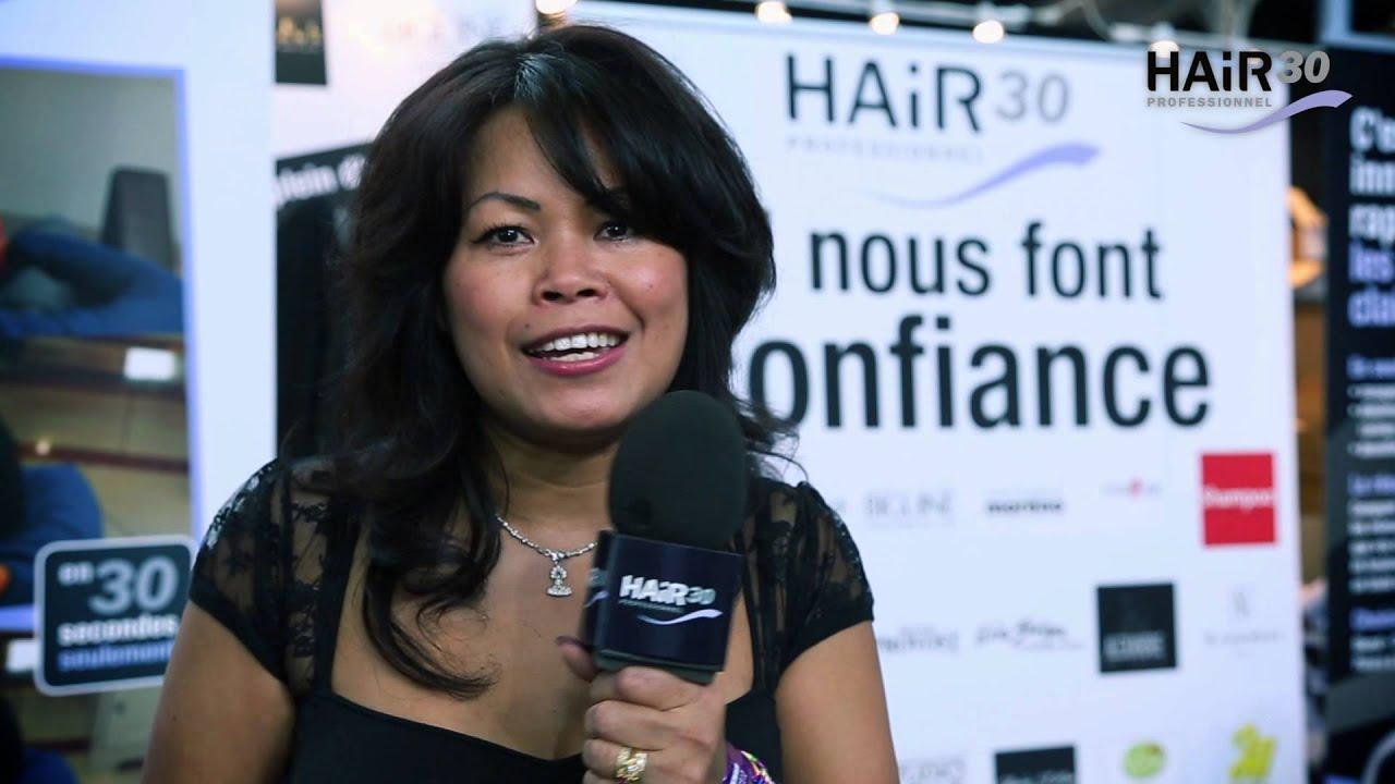 Hair30 au salon mondial de la coiffure youtube - Salon mondial de la coiffure ...