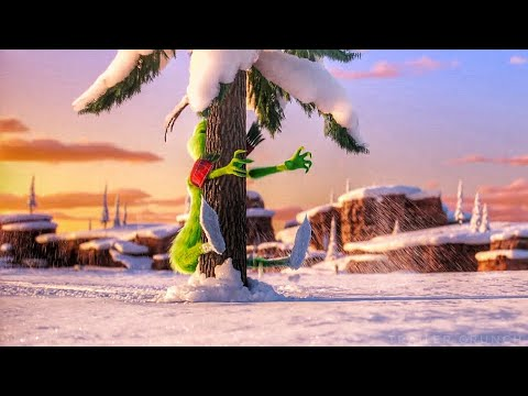Searching Reindeers Scene - Grinch Meets Fred Scene - The Grinch (2018) Movie Clip HD