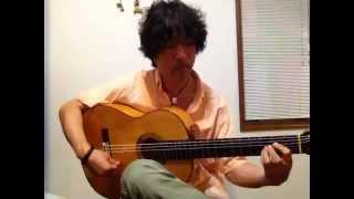 フラメンコギター Flamenco guitar 伊集院貞敏 Calle Francos (Bulerias)