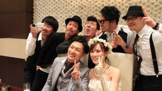 2013.4.13 Nobukazu + Asami @ A LA MODE PALAIS & THE RESORT 結婚式二...