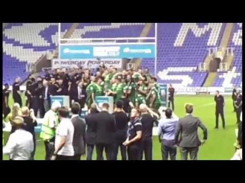 London Irish - Championship Winners!