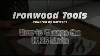 How to Change the H125 Blade