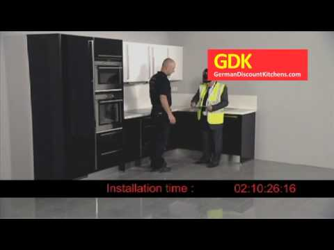 German Kitchen Installation - Simple, Efficient and fast