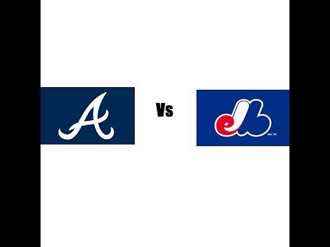 Atlanta Braves vs Montreal Expos