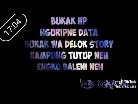 Status Whatsapp Bahasa Jawa Keren Youtube
