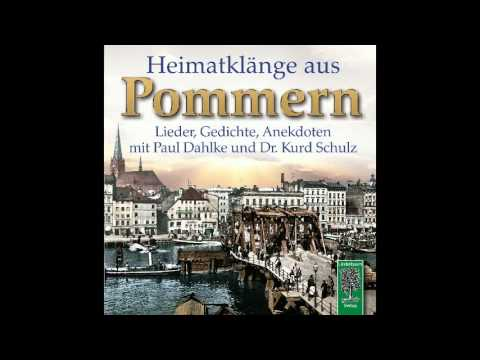 CD Heimatklänge aus Pommern - Pommernlied und Gedicht von Paul Dahlke