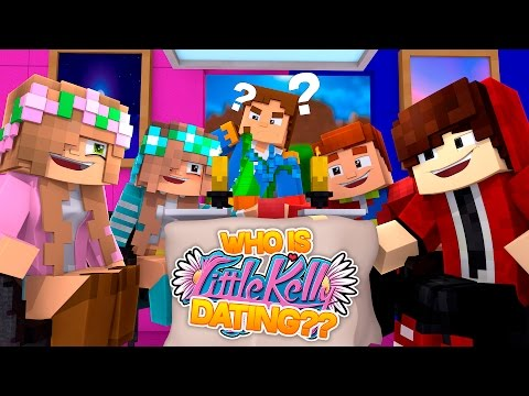 Minecraft Adventure - WHO IS LITTLE KELLY DATING, DONNY & RAVEN SPY ON THEIR GIRLFRIENDS!!