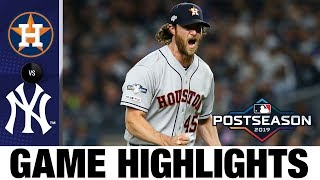 Jose Altuve backs Gerrit Cole as Astros win BIG ALCS Game 3 vs Yanks | Astros-Yankees MLB Highlights
