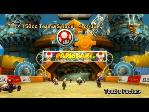Mario Kart Wii - All Tracks