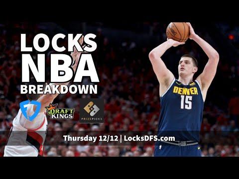 NBA DFS Breakdown - Thursday 12/12/2019 - DraftKings, FanDuel, And PrizePicks