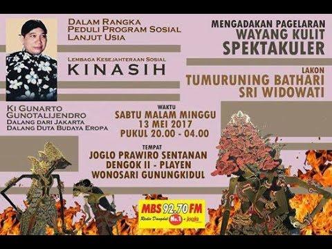 KI GUNARTO GUNATALIJENDRA live Wonosari Gunungkidul 13 Mei 2017