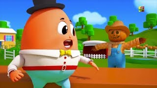 Humpty Dumpty se sent en la pared  Rimas infantiles para nios Nursery rhymes Song For Children