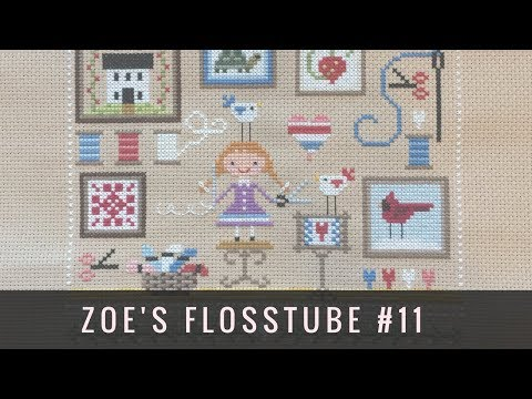 Flosstube #11: Recent Finish Parade - Satsuma, FPS, Floss Box