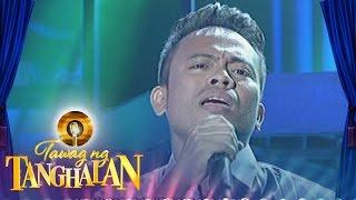 Mindanao resbaker Fernando Dumayao sings Gary Valenciano's Wag Ka N...