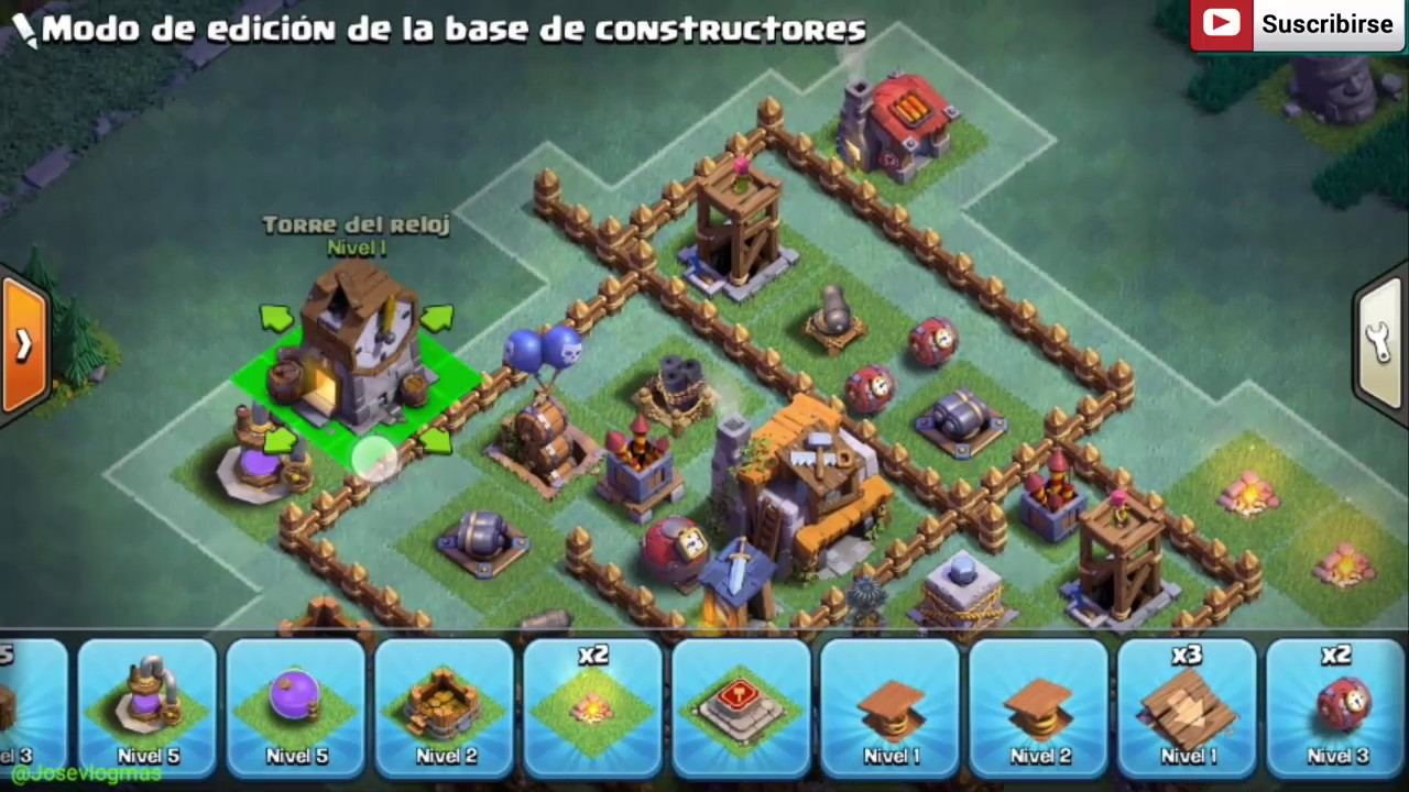 Base de constructor nivel 5 full 2017 youtube - Aldea de constructor ...