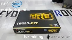 BtR - The Best Intel Motherboard for building a Ethereum mining rig in 2017