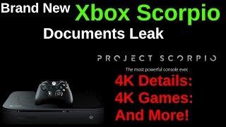 HUGE! Late Breaking Xbox Scorpio Leaked Documents & Information Breakdown