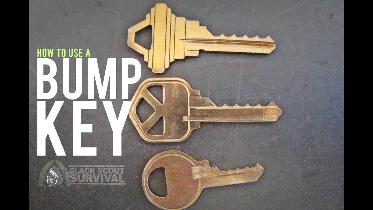 How To Make A Bump Key >> How To Use A Bump Key