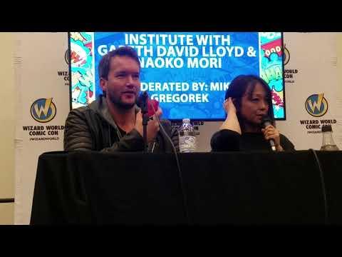 Gareth DavidLloyd & Naoko Mori  Wizard World Cleveland