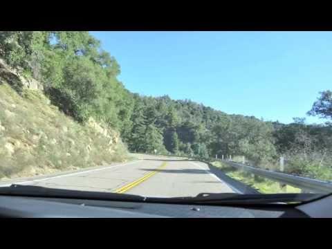 Time-lapse drive up Palomar Mountain
