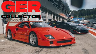 Gercollectors Trackday is on another level, PAGANI, SENNA, F40/ The Supercar Diaries Midweek Special