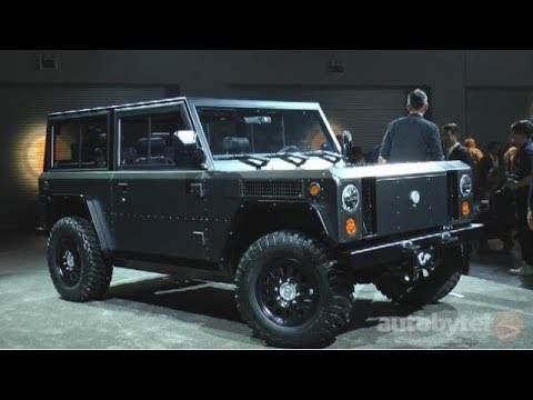 Bollinger Motors B1 Electric Truck Overview Video Review