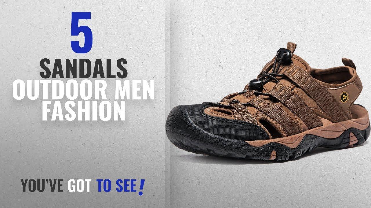 12d580563 Top 10 Sandals Outdoor  Men Fashion Winter 2018    AT-M107-BRN Men 9 ...