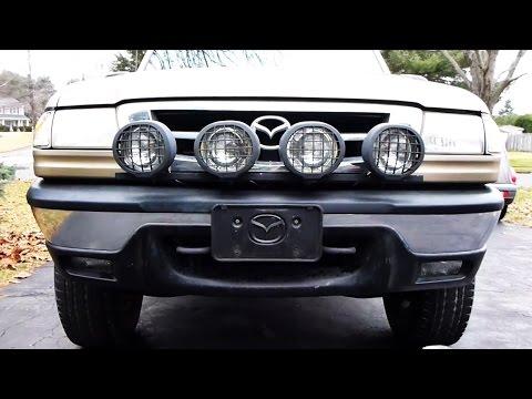 Off road light bar ford ranger mazda b3000 youtube off road light bar ford ranger mazda b3000 aloadofball Images