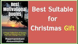 Best Motivational Quotes Book   Suitable for Christmas Gift    FREE at KU