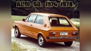 Audi-50.  1974-1978.