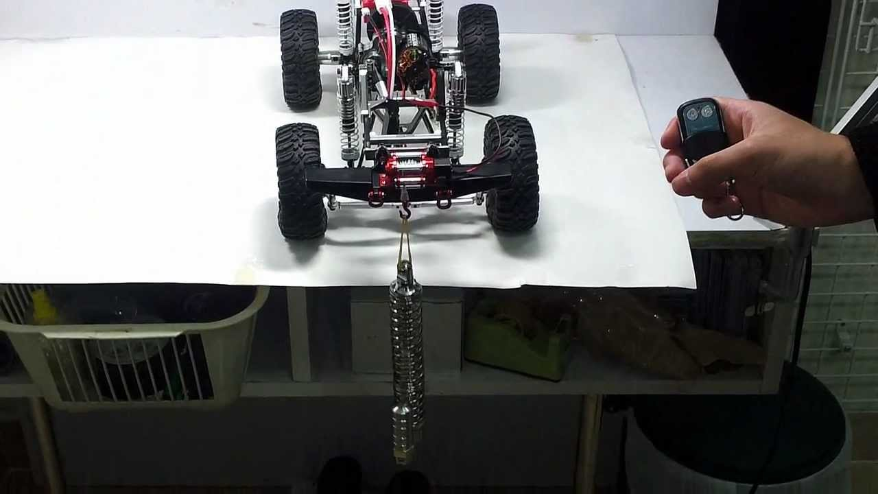 Rc Upgrades And Parts Aluminum Winch For 1 10 Rock Crawler By