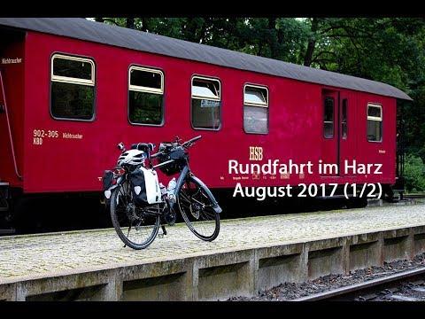 Mit dem Trekkingbike durch den Harz - Abseits der großen Straßen (1/2)