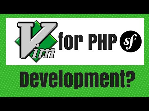 Using VIM for PHP/Symfony development
