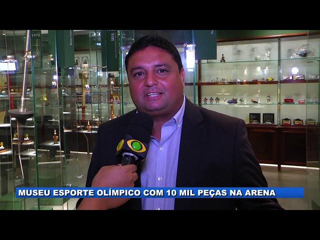 Museu esporte olímpico com 10 mil peças na Arena da Amazônia