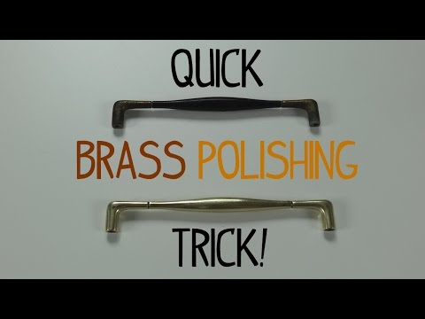 Quick Brass Polishing Trick!