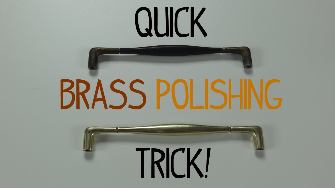 Quick Brass Polishing Trick Youtube