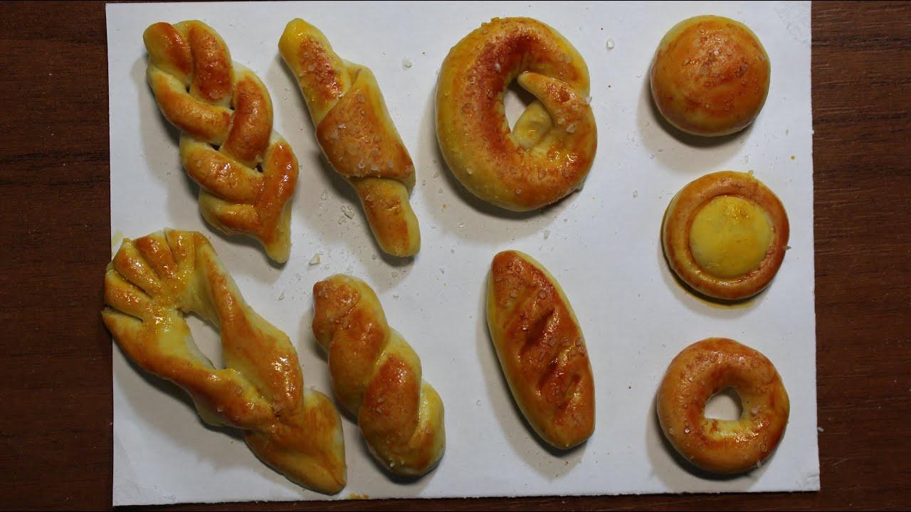 Поделки из соленого теста: хлеб и выпечка - каталог статей на 87
