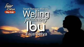 Download lagu FajarSetya weling Pituturing ibu MP3