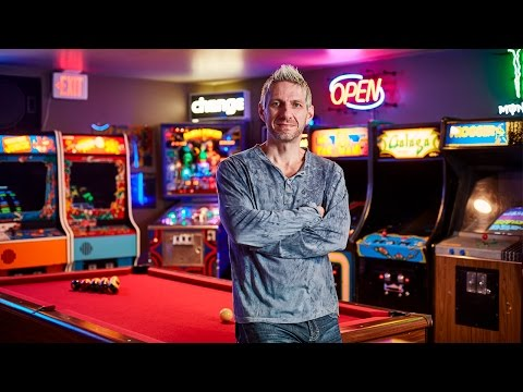 Basement Arcade – A Gamer Unlocks His Vintage Video Game Vault – Sanctuary – S1E3