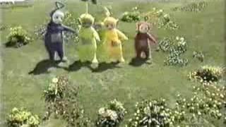 teletubbies dancing