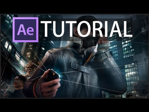 Watchdogs Phone Hacking Effect Tutorial [Adobe After Effects]