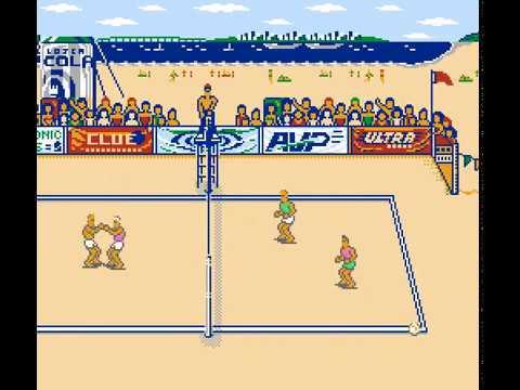 NES Longplay [903] Kings Of The Beach