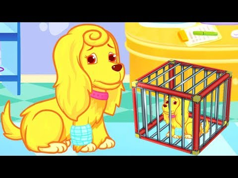 Fun Pet Care Kids Games - New Puppy's Rescue & Care Dress Up Games For Kids - Fun Animal Care Game