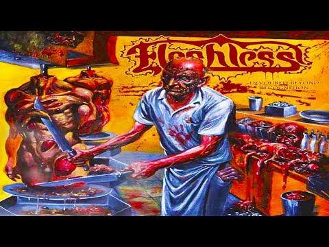 Fleshless  Devoured Beyond Recognition  Full Album Brutal Death Metal