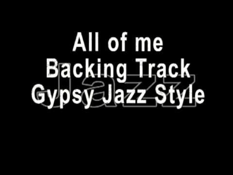 All of me - Gypsy Jazz - Backing Track